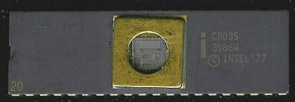 Rare 8035 w/ UV-EPROM