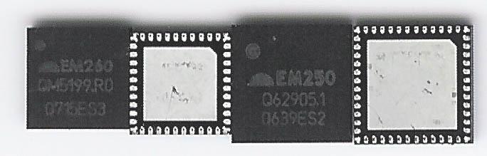 Ember EM250 & EM260 XAP cored ZigBee SoC's