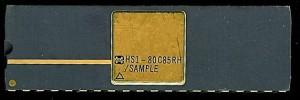 Harris HS1-80C85RH/SAMPLE