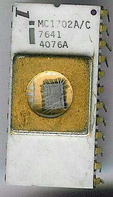 Intel MC1702A/C EPROM