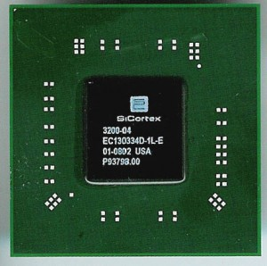SiCortex Node chip