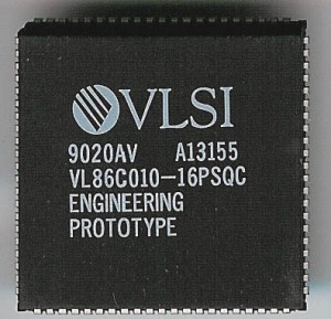 VLSI VL86C010-16PSQC 16MHz ARM2 CPU