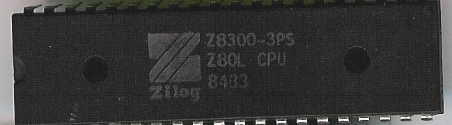 Zilog: The First Decade: Z80, Z8 and the Z8000 | The CPU