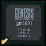 Genesis gm1601 186 based Display controller - 2005