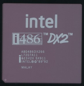 Intel 486 With new logo - 2007