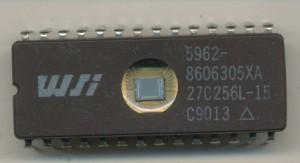 WSI27C256L-15-5962-8606305XA