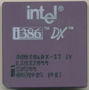 A80386DX-33-SX544DoubleMark