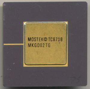 Novix Mostek MKGD02TG - 1987 4000 Gates 16,000 Transistors NC4016