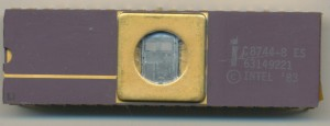 Intel C8744-8 Engineering Sample - Early 1983