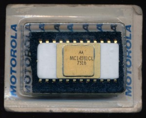 Motorola MC14581CL 4-bit ALU
