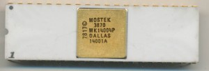 Mostek 3870 MK14004P - 1978