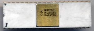 Mostek MK3850P-3 - F8 Processor - 1977