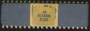 Motorola XC6800B - July 1975 - Pre-production part, not something MOS bothered with.