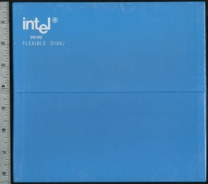 "Intel 8"" Floppy Disks (10 Pack) - Minimalist Packaging ahead of its time."