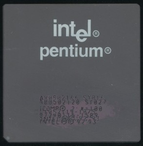Pentium 166 Faked from Mobile 120