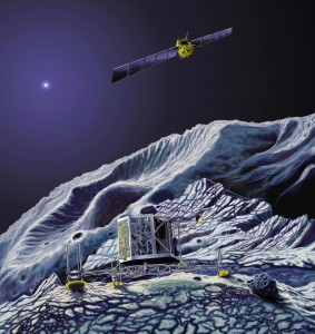 Rosetta Comet Chaser - Dynex 1750