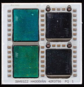 IBM POWER5+ QCM - 4 dies, 8 cores, and 72MB of L3 Cache
