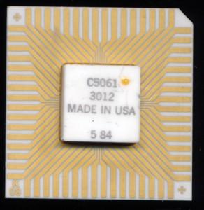 HP C5061-3012 - 16 Bit - 4  MHz - 1984