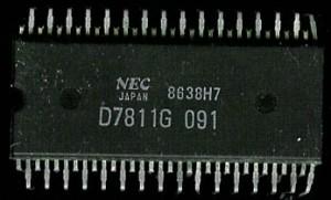 NEC uPD7811G - 1988