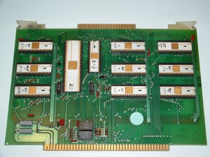 Four Phase IV-70 CPU Card - Note 3 x AL-4 chips forming the 24-bit processor