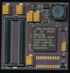 Fujitsu MRN-3545 (100) 100MHz Pentium with no L2 Cache