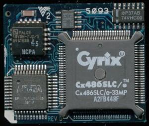Cx486SLC/e-33MP Based Improve Technologies Make-It 386 for a 286