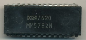 National Semiconductor MM5782N - 400KHz 1976