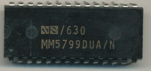 National Semiconductor MM5799 - Single chip COPs