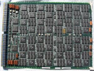 MasPar MP-2 Board - 1024 Processor Elements dissipating 50W total