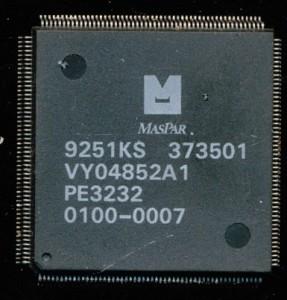 MasPar PE3232 - 32 12.5MHz 32 bit Processing Elements - 1992