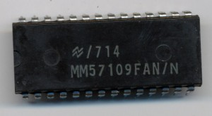 National Semiconductor MM57109 - Number Cruncher