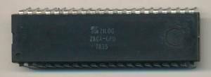 Zilog Z80A CPU -1978