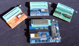 MCS-80 Test Board with set of 3 Expansions.