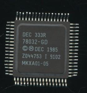DEC 78032 GD-DC333R MicroVAX VLSI