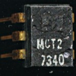 Monsanto MCT2 - LED Based Opto-coupler