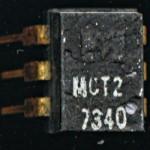 Monsanto MCT2 - LED Based Opto-coupler