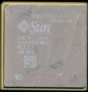 Sun SME1832ABGA PG 2.2.0 UltraSPARC RK - 2007 Sample