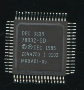 DEC 78032 DC333R MicroVAX II - 5MHz