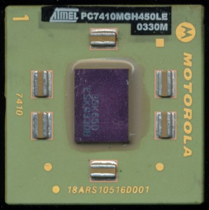 Atmel PC7410MGH450LE - Motorola Marked Package