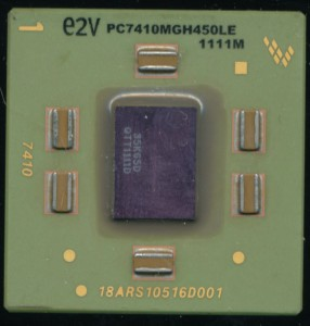 e2v PC7410MGH450LE - Freescale Marked Package