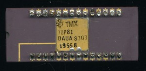 TI TMX70P81 - Early 8K Prototype. Never released