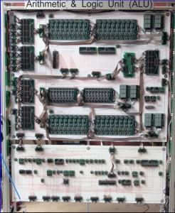 16-bit MegaProcessor ALU