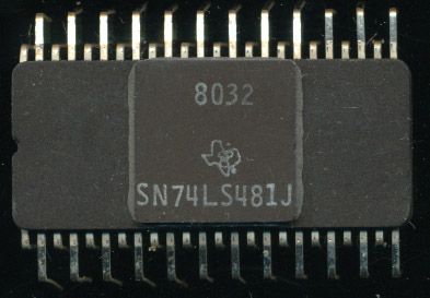 TI SN74LS481: A Better Bit-Slicer | The CPU Shack Museum