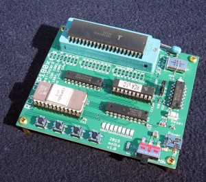 CDP180x Test Board with included Intersil CDP1802ACE