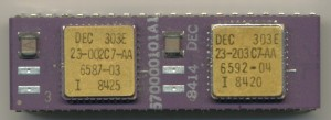 DEC 570000101A1 F11 Floating Point Option with 2x 303E Control chips