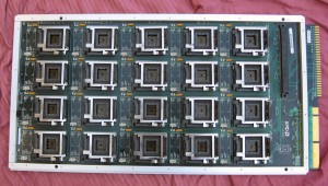 AMD 20 socket test board, circa 2000