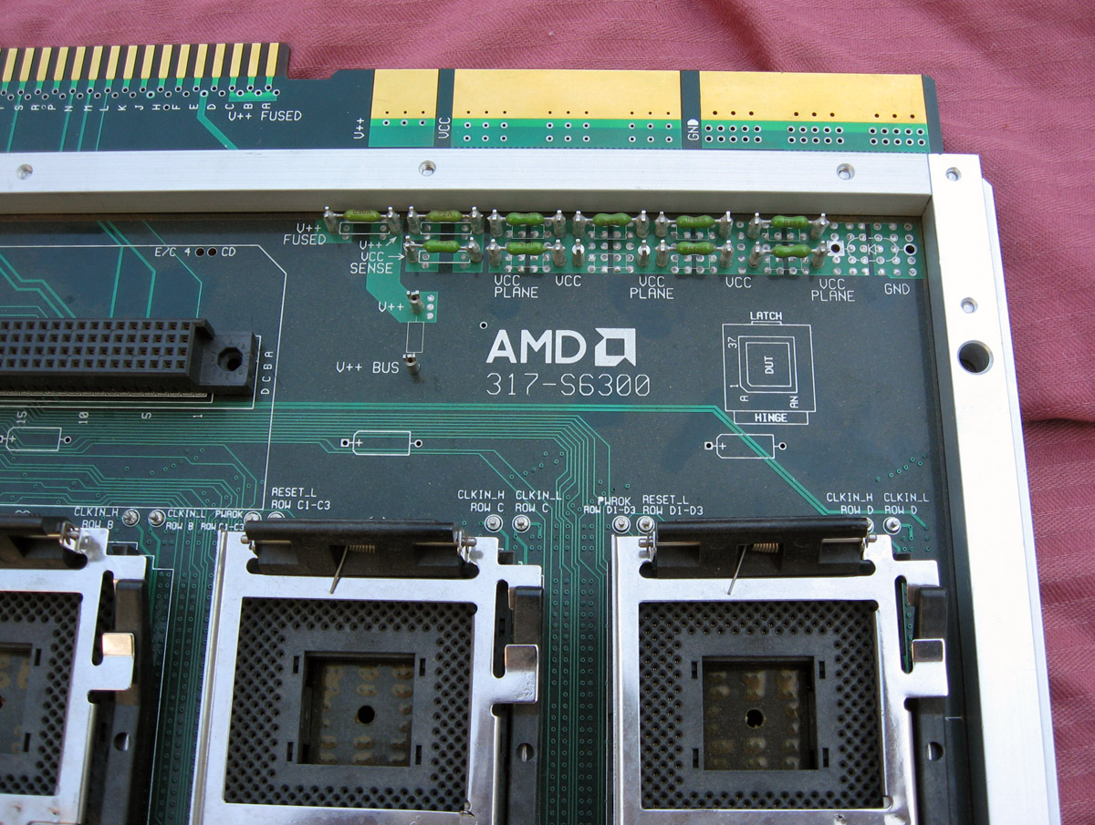 The Cpu Shack Museum Amd Quick On Board Junction Tester Socket A Test