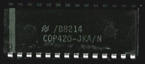 National Semiconductor COP420 - 1982