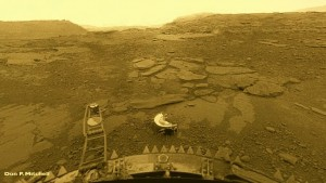 Surface of Venus, from Venera-13
