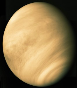 Venus - From the Mariner 10 Probe